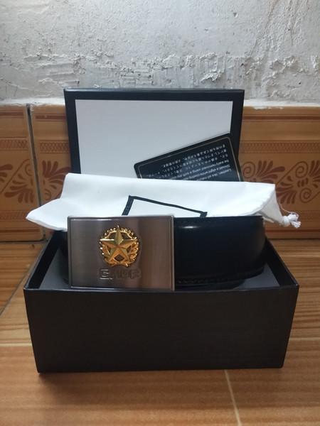 listado Tops Italia marca Diseño de marca Moda sólido Hebilla grande Cinturón de cuero genuino cinturones de correa de marca para hombre Cinturón de jeans para mujer