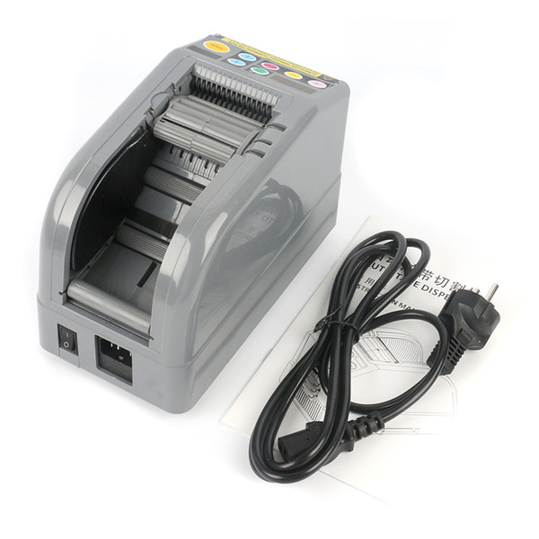 110V 220V ZCUT-9 Automatic Tape Machine Dispenser Tape Cutting Machine 6-60mm width 5-999mm length For Aluminum Copper Foil Tape