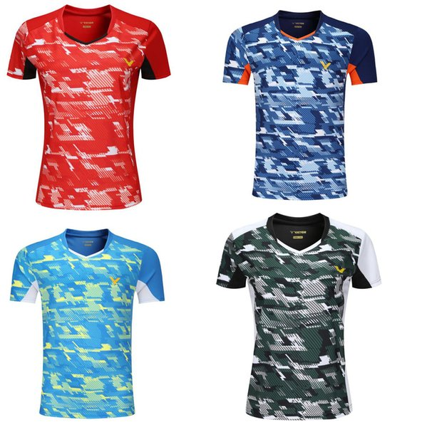 best selling World Championship victor badminton T-shirt sport shors, quick-dry men women table tennis shirts ,South Korea team badminton tennis shirts