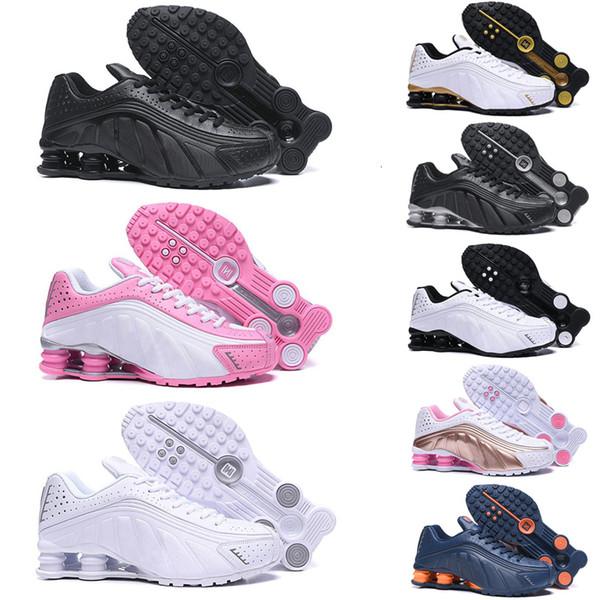 Homens clássicos ENTREGAR R4 OZ NZ 301 Black Red triplos mulheres negras branco que funciona sapatos Black Gold Mens formadores sapatos 2019 Esportes