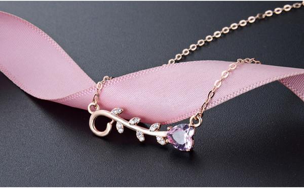 S925 collana in argento sterling donne gioielli ciondolo zircone stile etnico catena clavicola retrò