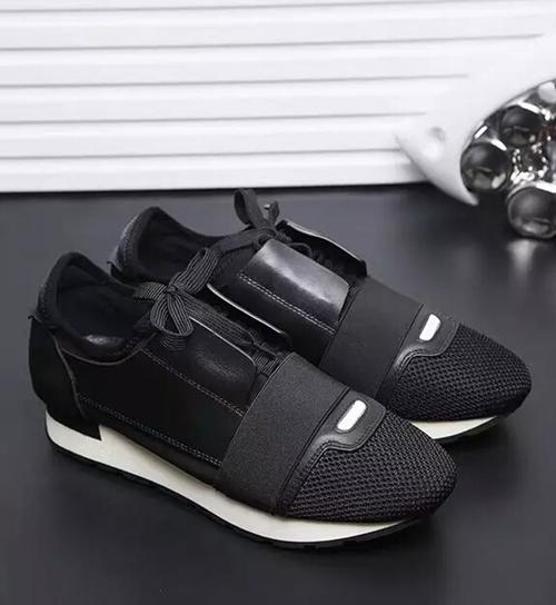 New Race Runners Perfect quatily Mens Trainers Lace-Up casual shoes With box and dust bag Free shipping Size 35-46