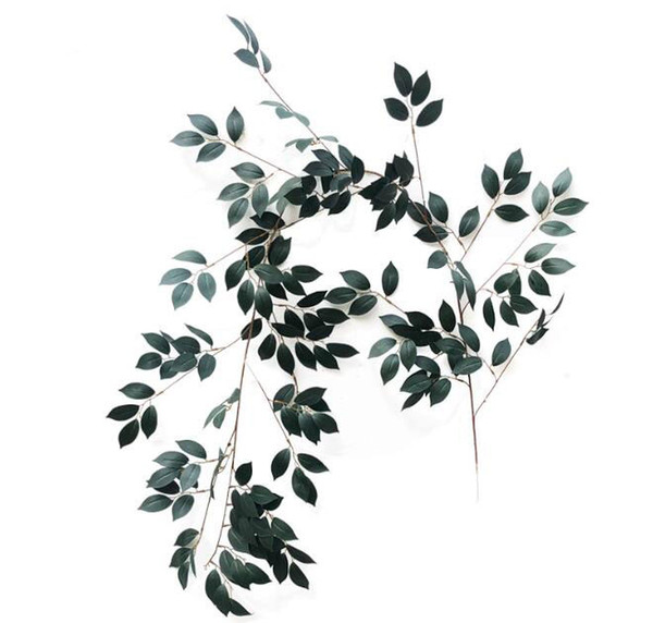 Artificial Banyan Branch Fake Plastic Banyan Tree Branch Silk Artificial Plants for Wedding Home outdoor Decoration