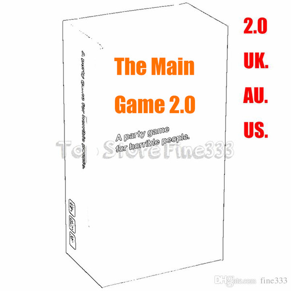 Against FOR Humanity 2.0 Board Game Cards Game Version 2.0 Over 150 new cards since the last Version US/UK/AU W4841