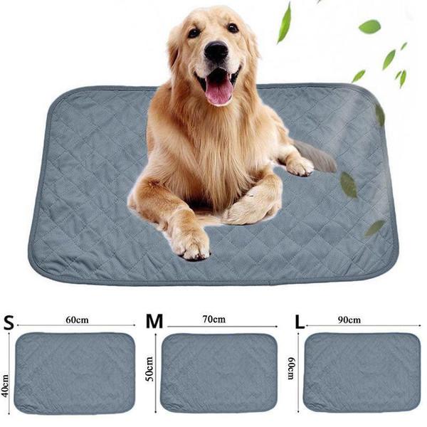 US Summer Chilly Mat Cooling Pet Dog Cat Bed Cool Gel Pad Viscose Fiber Mats