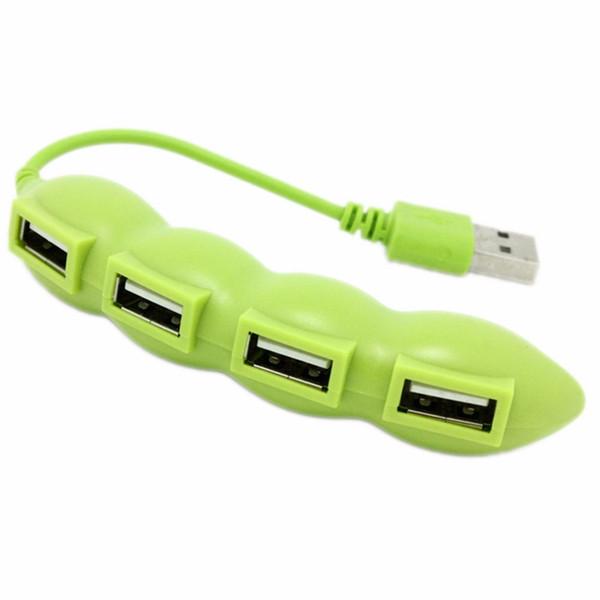 NOUVEAU Hub USB 2.0 4 ports Hi-Speed pour Portable Fruit Design pour ordinateur de bureau PC portable En stock!