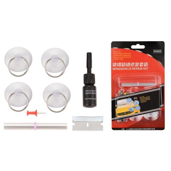 DIY Car Windshield Repair Kit Glass Windscreen Restore Repairing Tools Set Big Chip Crack Repairing Car Auto Kit