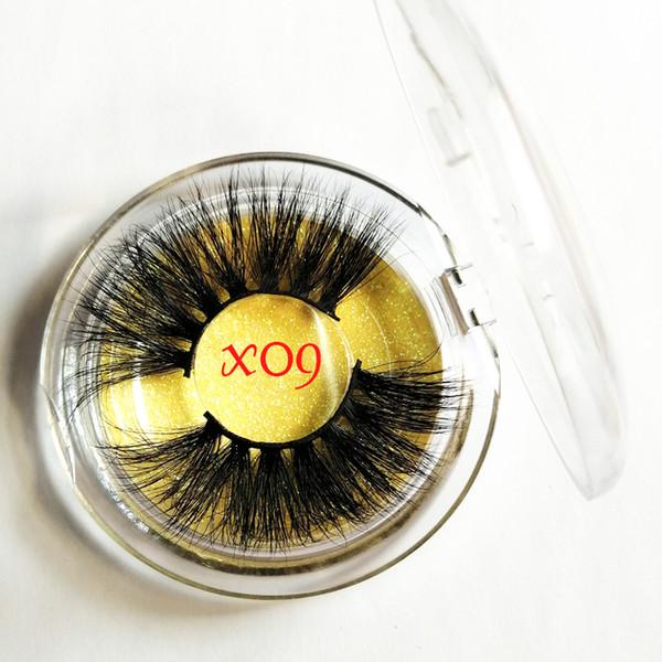 25mm Nerz Wimpern Natürliche Lange 25mm Wimpern Weiche 3d Nerz Wimpern Makeup Falsche Wimpern Extensions Fashion 22