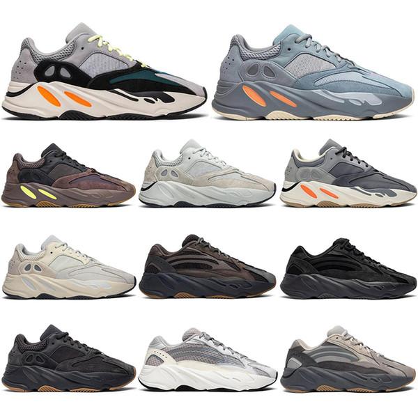 Adidas yeezy boost 700 Con los calcetines libres 2020 Wave Runner Geode Geode Vanta inercia estática de malva imán mujeres de los hombres zapatillas de deporte de los calzados