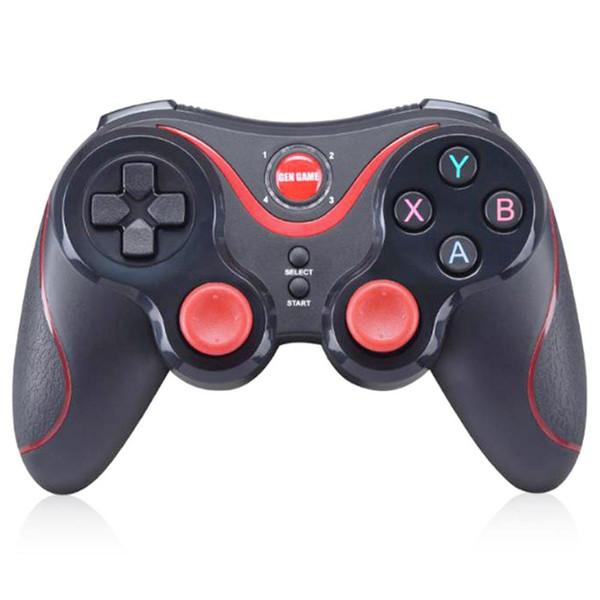 GEN GAME S5 Bluetooth Gamepad Fernbedienung Joystick PC Game Controller für Smartphone / Tablet mit Halter Empfänger