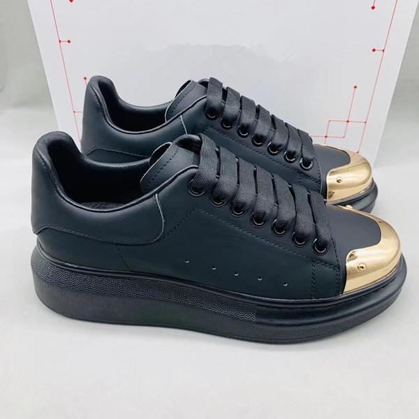 2019 yeni tasarımcı marka YURTDIŞI SNEAKER büyük yassı bağcıklar ve büyük boy kauçuk taban SNEAKER Süet Deri Marka Sneakers m18903