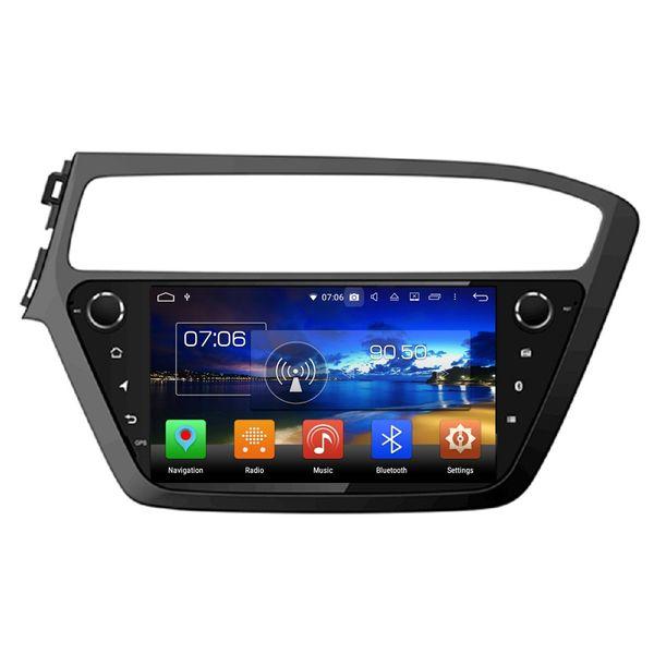 "8-Core 1024*600 9"" Android 8.0 Car dvd Player for Hyundai i20 2018 Car Audio Stereo Radio GPS Bluetooth WIFI USB 4GB RAM 64GB ROM"