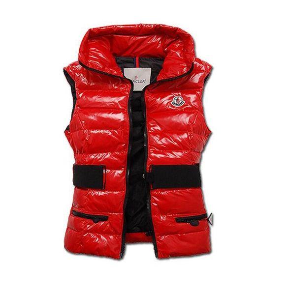 Hot Sale Fashion M Brand Winter Down Vest for Women Coat Slim Vests Female Sleeveless Jacket 90% Real duck down