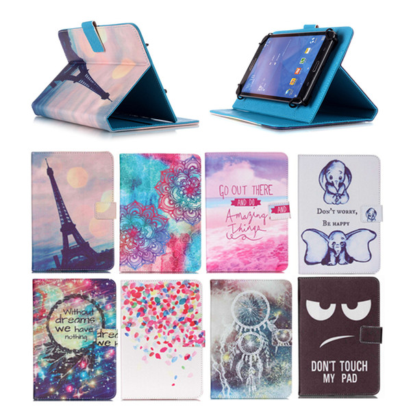 Universal 10 inch Tablet Case for Sony Xperia Z2 Tablet LTE kickstand PU Flip Cover Case for Sony Xperia Z2 Tablet SGP511 SGP512