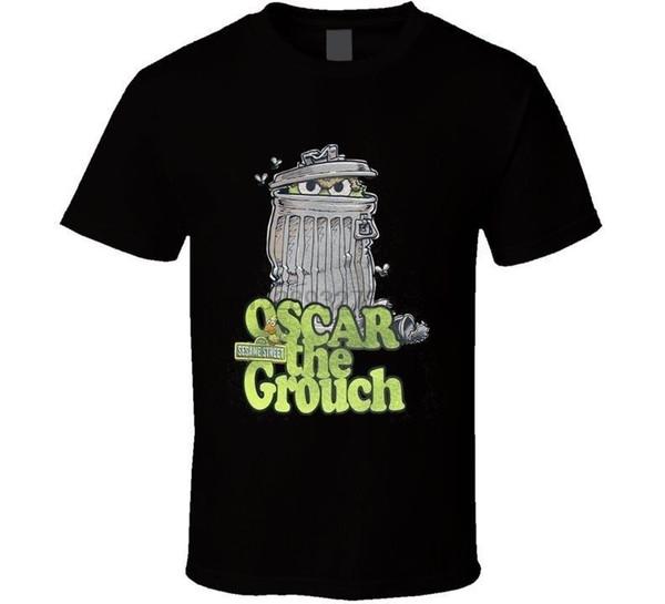 Rue Sésame Oscar The Grouch Can T-shirt t-shirt T