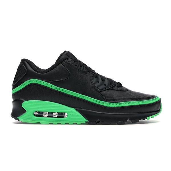 9 negro verde