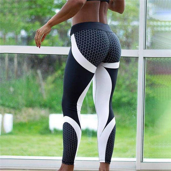 af11f637baa7d New Printed Leggings Fitness Leggings Women Sporting Workout High Waist  Leggins Jogging Elastic Slim Push Up Pants