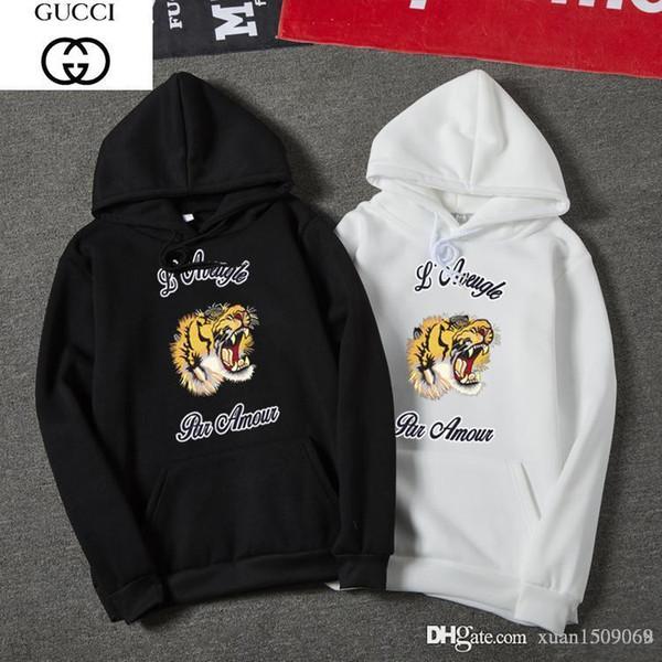 Langärmeliges T-Shirt für den Frühling / Herbst, Herrenbekleidung, koreanische Version des Hoodie, lässiger Herren-Hoodie, Mode- und Sportjacke