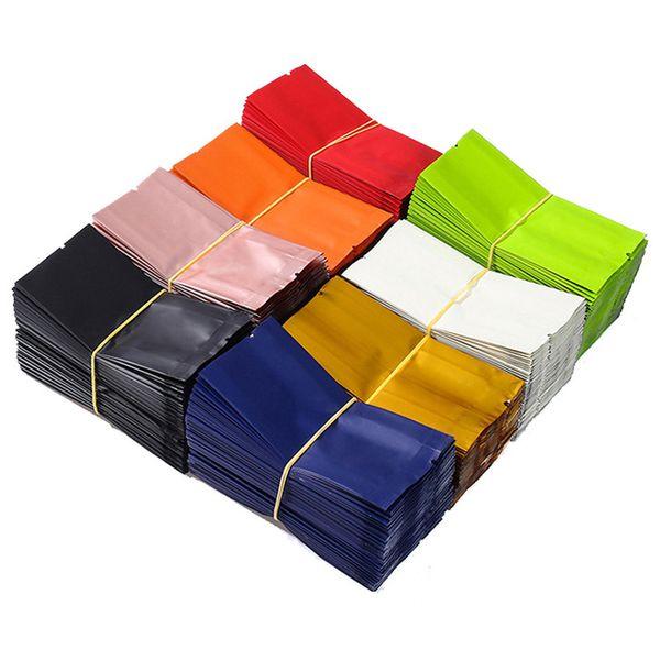 10.5*5*2cm Aluminum Foil Tea Package Bags Vacuum Small Storage Pouch Bag for Food Black Tea Green Tea