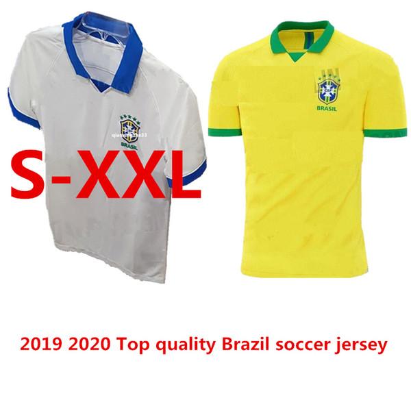 Brazil 2020 World Cup.2019 Top Quality 2019 2020 World Cup Brasil Soccer Jerseys 19 20 Brazil Jerseys Jesus Coutinho Firmino Marcelo Football Shirts Uniform S Xxl From