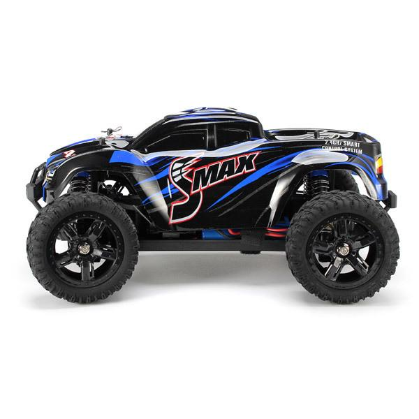 Remo 1631 1 /16 2 .4g 4wd Brushed Off -Road Monster Truck Smax Rc Remote Control Toys With Transmitter Rtr