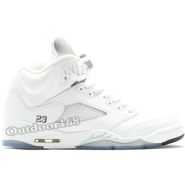 #23 Metallic White