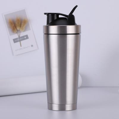 Shaker Bottle 550ml Stainless Steel Shaker Double Wall Vacuum Insulated for colod and hot drinks Gym Outdoor