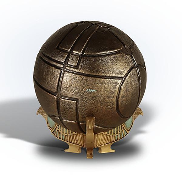 Assassins Creed Yaratıcı Eden Art Craft Nefis Doğum Hediye PVC Eylem Koleksiyon Model Oyuncak 9.5cm BOX G470 Apple Garden Shine Can