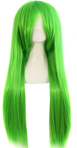song wig.01584 free shipping Women Long Straight Party Fashion Cosplay Costume Full Wig