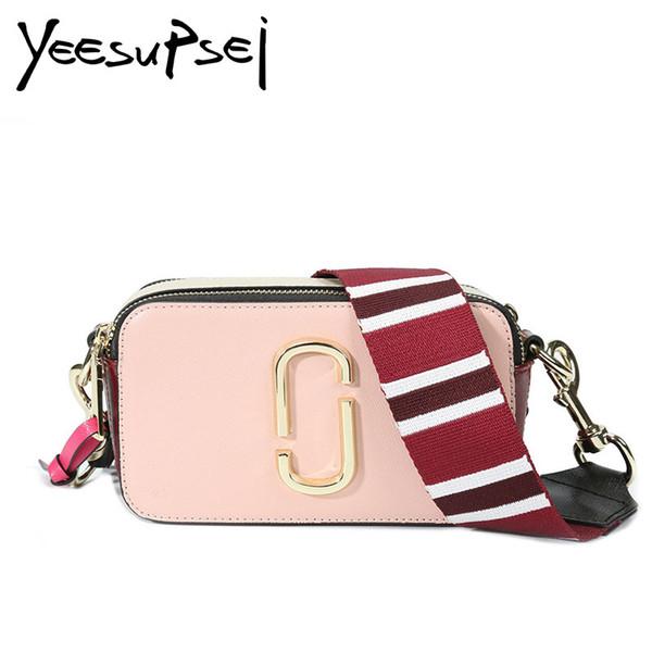 YeeSupSei Kleine Handytasche Süße Farbe Mini Square Bag Pailletten Paneled Schulter Mode Breite Schultergurt Crossbody
