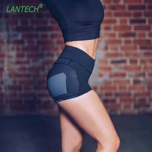 LANTECH Mulheres Calções de Yoga Jogging Sports Correndo Sportswear Ginásio de Fitness Ginásio de Compressão Calções Justas Sexy Roupas # 313816