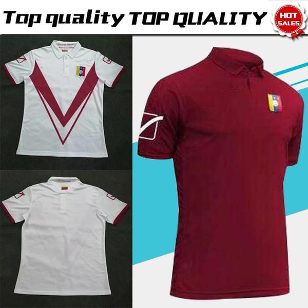 2019 Venezuela national football Team home Red Soccer Jersey 19/20 Brazil American Cup Match jerseys Soccer Shirt Adult Football Uniforms