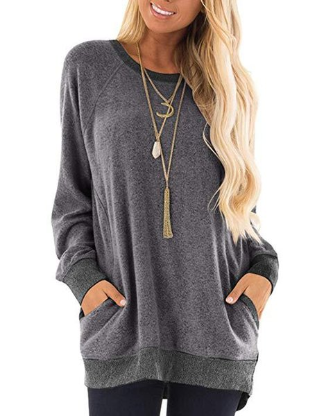 gray pocket hoodies