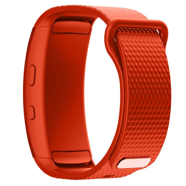 Luxury Silicone Sport Watchband Bracelet for Samsung Fit 2 SM-R360 Strap Replacement Wristband for Samsung Gear Fit 2 Pro Band