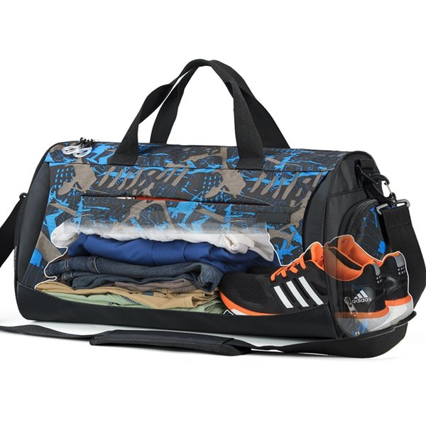 aff2b50ea13b Мешок для обуви Спортивная спортивная сумка с пакетом Wet Pack для мужчин и  женщин Тренировки Фитнес