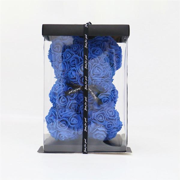 ensemble bleu royal