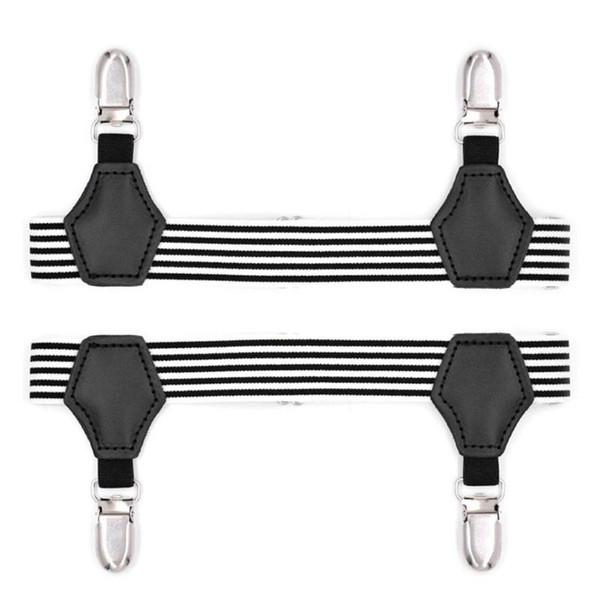 Men Shirt Socks Stays Garters Elastic Adjustable Garters Leggings Girdle Anti-slip Crease-Resistance Suspenders Strap Brace