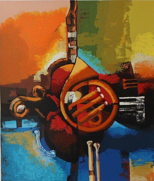 Igor Kovalev - Symphony II Decoración Artesanías / impresión de HD pintura al óleo sobre lienzo de arte cuadro de la pared 191207