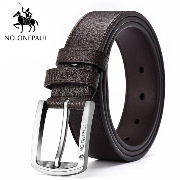 Cinturones de cuero genuino al por mayor de moda para hombre hebilla hebilla cinturones de marca para hombres cinturón de cuero genuino pantalones ceinture homme