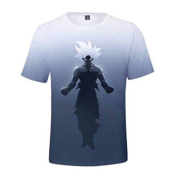 New Arrival Cool Goku Dragon Ball Z 3d T Shirt Summer Hipster Short Sleeve Tee Tops Men/Women Anime DBZ Harajuk T-Shirts Homme