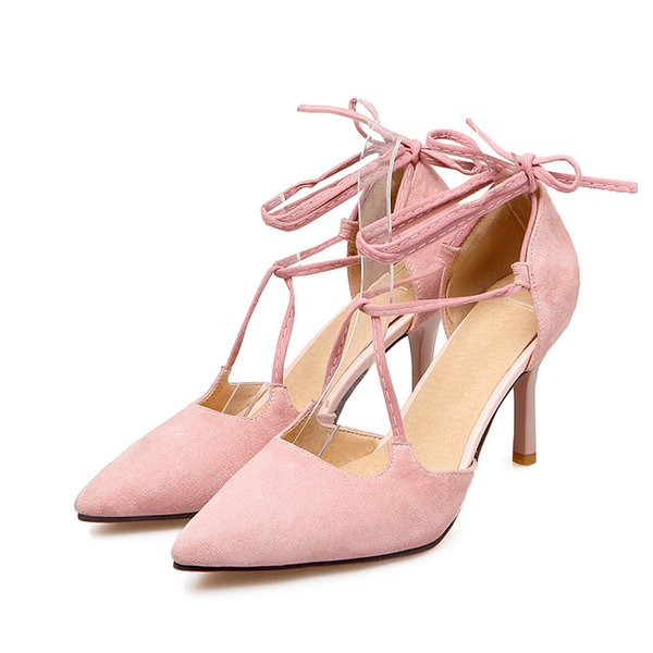 Sexy2019 Classic Foot Ring Trip Bring Sharp European Fine With Street Shoes Time Shoe Will Sandals G-47