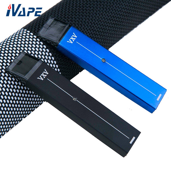 VXV RB Pod Kit 380mah with 2ml Pod Cartridge Dual Replacement Batteries and Charger Box Compact & Portable Pod Vape Pen Kit 100% Original