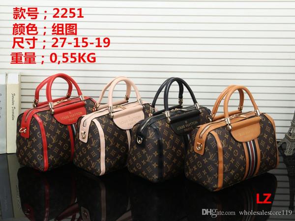 Neue stile Handtasche Mode Handtaschen aus Leder Frauen Tote Umhängetaschen Dame Handtaschen aus Leder Taschen Handtasche Rucksack 2251