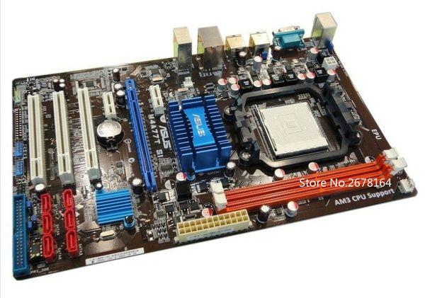 original / 770 Desktop motherboard Asus M4A77T SI ATX motherboard DDR3 Socket AM3 good tested