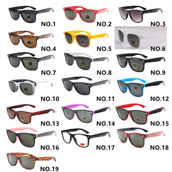 19 color brand designer sunglasses for men woman uv400 luxury classic sunglasses personality trend reflective coating eyewear thumbnail