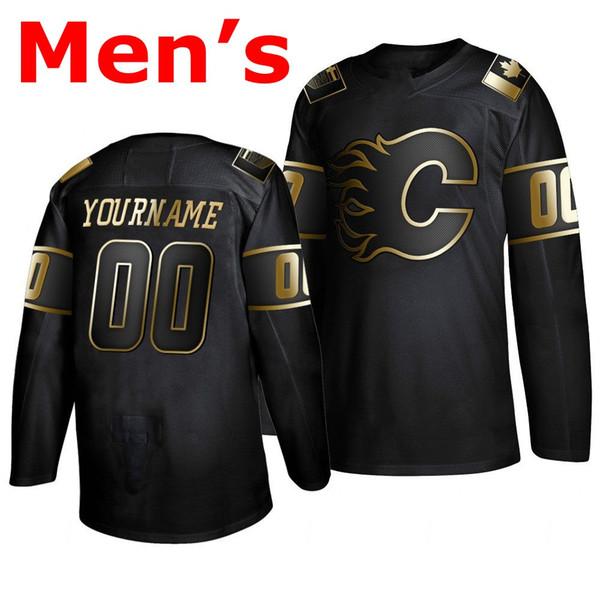 Men # 039; s nero 2019 di Golden Edition