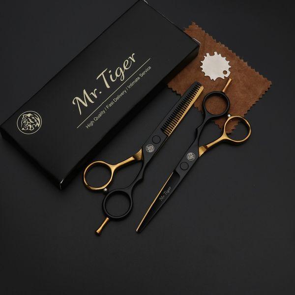 6 Inch Japan Steel Professional Hairdressing Scissors Hair Professional Barber Scissors Set Hair Cutting Shears Scissor Haircut
