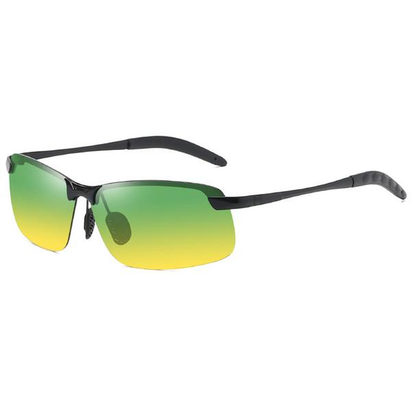Óculos de sol polarizados 2019 3043 visão noturna mens Óculos de sol equitação ao ar livre descoloridos dia e noite