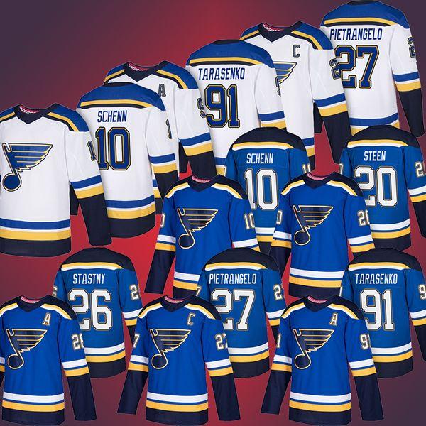 buy popular cbf19 02c8c 2019 Cheap 10 Brayden Schenn Jersey 27 Alex Pietrangelo 91 Vladimir  Tarasenko 20 Alexander Steen St. Louis Blues From Lks159156, $28.43 |  DHgate.Com