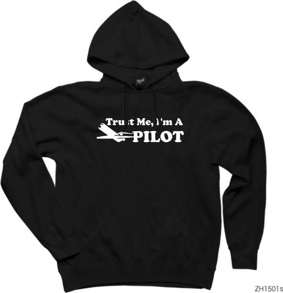 Giyim Zepplin Giyim Güven Me Türkiye'nin HB-003994025 dan Pilot Kapşonlu Sweatshirt / Hoodie Gemi duyuyorum